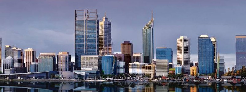 Beautiful View of residential buildings in Perth